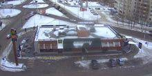 Webcam Saratov - McDonald's in tel'mana
