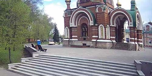 Webcam Lipetsk - Temple of the Most Highs Peter and Paul