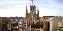 Webcam Barcelona - The Atonement Temple of the Holy Family