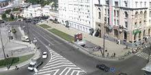 Webcam Kharkov - Metro station Historical Museum, thermometer