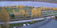 Panorama of the Tom River Tomsk