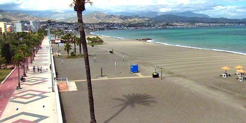 Webcam Malaga - Beachfront promenade Torre del Mar