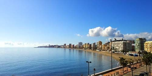Webcam Fuengirola - Cove with beaches in the Torreblanca area