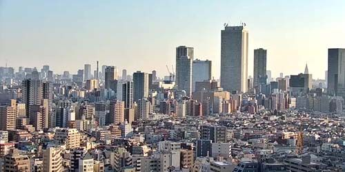 Webcam Tokyo - Toshima area, panoramic view from above