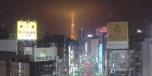 Webcam Tokyo - Panorama view of TOKYO tower