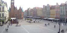 Webcam Wroclaw - Town Hall on the central square