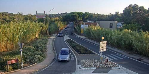 Webcam Hyeres - Traffic on the way to the beaches