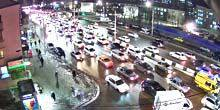 Webcam Krasnoyarsk - Traffic on Partizan Zheleznyak