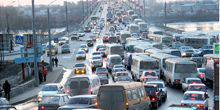Webcam Dnepr (Dnepropetrovsk) - Traffic on Slobozhansky Avenue (Truth)