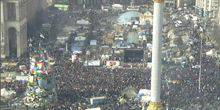 Broadcast from Independence square Kiev