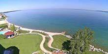 Webcam Bay harbor - Little Travers Bay on Lake Michigan