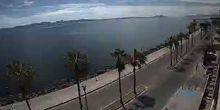 Webcam Loreto - Embankment with palm trees