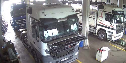 Webcam Minsk - Truck Service Station