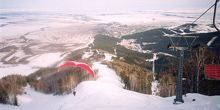 Webcam Belokurikha - The cable car to Mount Tserkovka