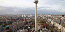 Webcam Berlin - Berlin TV Tower, St. Mary's Church