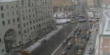 Webcam Moscow - The Intersection Of Tverskaya -Pushkinskaya