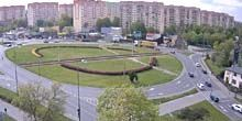 Webcam Lodz - Kosciuszko uprising ring