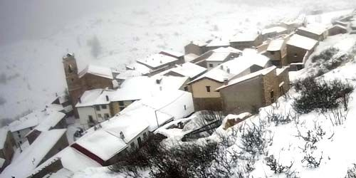 Webcam Teruel - Municipality of Valdelinares at an altitude of 1692 meters