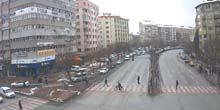 Webcam Konya - Traffic on the street Vatan