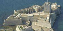 Webcam Fouras - Panorama from Fort Vauban, views of the Fort Boyart