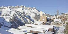 Kummun St. Veran at an altitude of 2000 meters in the Alps Briancon