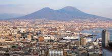 Webcam Naples - Active volcano Vesuvius