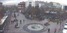 Victory Square, city clock Konya