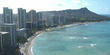 Webcam Hawaiian Islands - View from hotel Sheraton Waikiki