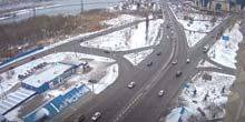 Webcam Krasnoyarsk - Vinogradovsky bridge, Belinsky street