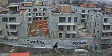Webcam Prague - Construction of a residential building Vitaliti
