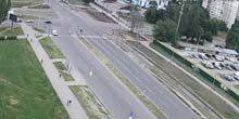 Webcam Kharkov - St. Vladimir's Church on Tractor Builders Avenue