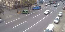 Webcam Dnepr (Dnepropetrovsk) - Street of Prince Vladimir the Great