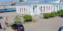 Webcam Melitopol - The area in front of the railway Station