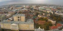 Webcam Kazan - Panorama from KFU towards the Volga River