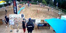 Webcam Cardiff - Beach Volleyball Fields