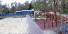 Webcam Ternopol - Playground and volleyball field
