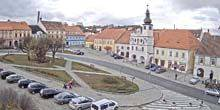 Webcam Prague - Central square of Volyn village