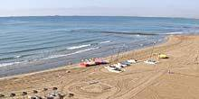 Webcam Castellon de la plana - Beach Hotel Voramar