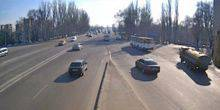 Webcam Dnepr (Dnepropetrovsk) - View of the Vorontsov Avenue