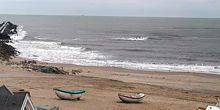 Webcam Thisted - Beaches with large waves of the village of Vorupor