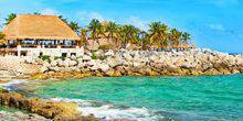 Webcam Playa del Carmen - Beach Park Xcaret