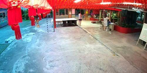 Webcam Taichung (island of Taiwan) - Taichung Xitong Temple in Wilai Temple
