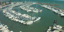 Webcam Benidorm - Yacht club on the coast