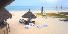 Webcam Dar es Salaam - Paradise Beach for Kiting on the Zanzibar Archipelago